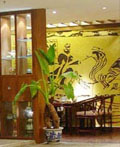中国古雅的田园风格茶楼室内设计