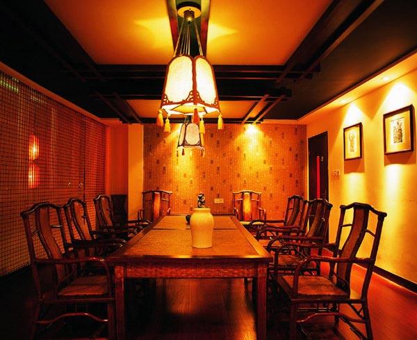 浓浓的中国古典风格茶楼室内设计