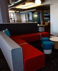 休闲的Twitter旧金山新总部室内设计