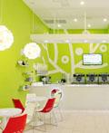 色彩鲜艳的弗吉尼亚Yogurt店室内设计