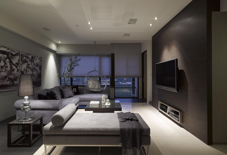 简洁雅致的现代室内设计