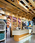 Quiksilver年轻男子商店室内设计