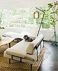 绿植融入室内的波特乡村风住宅改造设计