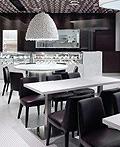 香港旺角100 Bites Dessert餐厅室内设计