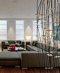 多伦多西蒙娜家庭复式公寓室内设计