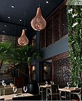 大阪Ariel Chemi餐厅室内设计