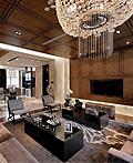 广州现代豪华公寓室内设计