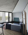 立陶宛现代一居室公寓室内设计