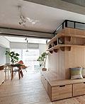 日本老居翻修公寓室内设计