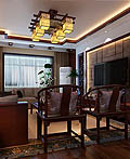 152平米的中式古典室内设计
