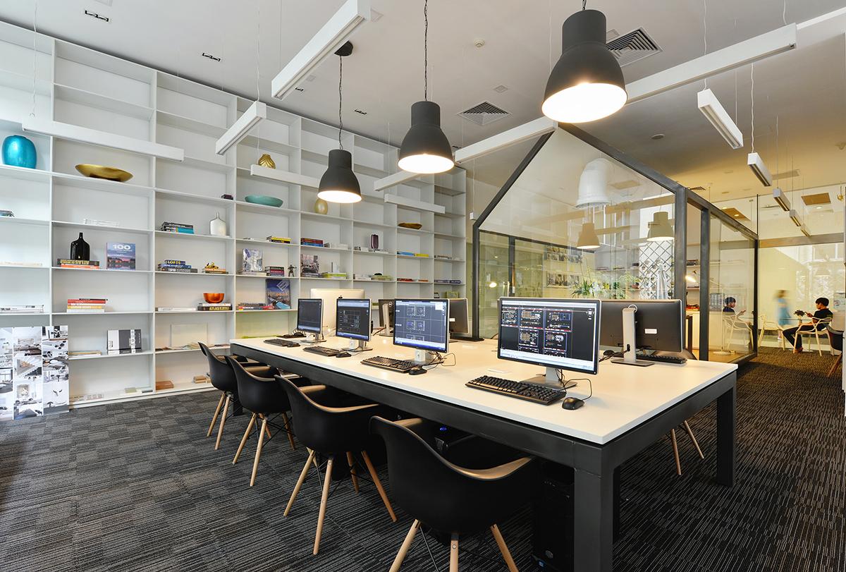 包豪斯建筑设计事务所办公室设计