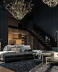巴黎豪华公寓室内设计