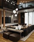 乌克兰豪华公寓室内设计