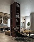 乌克兰明斯克公寓室内设计