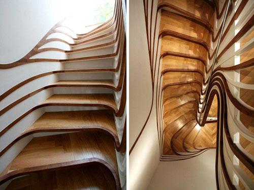 20种让你心醉的楼梯设计
