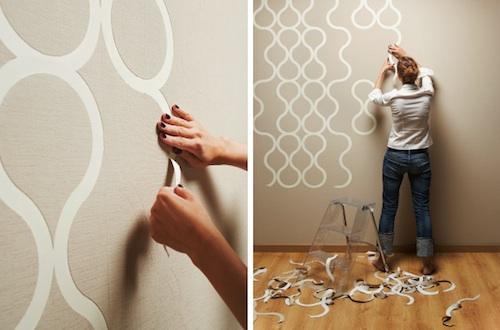 可撕壁纸――自我定义的空间