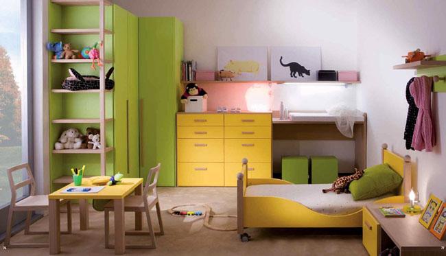 几例温馨多彩的儿童房装修设计