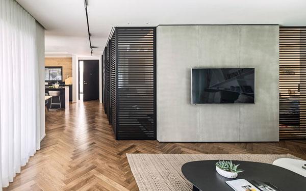 温馨现代的B House住宅室内设计