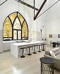 古老教堂改造的现代化住宅设计