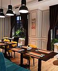 地中海风情的罗马尼亚La samuelle餐厅设计