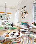 色彩绚丽的巴塞罗那公寓设计
