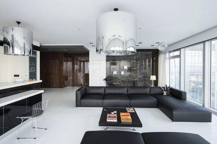 优雅的圣彼得堡公寓室内设计