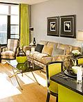 绘画艺术装饰的客厅室内设计
