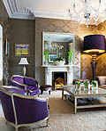 49个国外精致创意构思的小客厅设计灵感