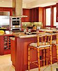 19种厨房里的早餐酒吧设计理念