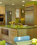 厨房用绿色来装饰会怎么样?
