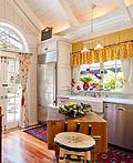 法国乡村风光的厨房室内设计