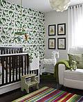 14个国外符合婴儿色彩心理学的婴儿房