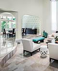 41个国外最佳阶梯式客厅设计