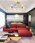 简洁北欧风格现代公寓设计