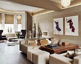 17个简约极简主义客厅设计理念