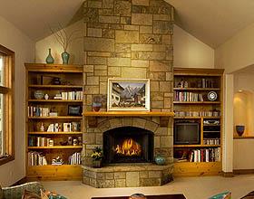 壁炉理念:45个现代和传统壁炉设计