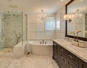 打破传统的浮动瓷砖地板让卫生间装修上档次