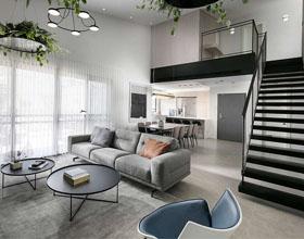 以色列现代工业复式公寓