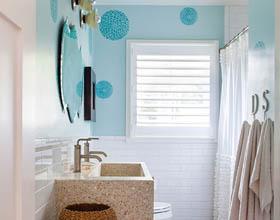 15个案例让你有个特别的半个浴室的想法