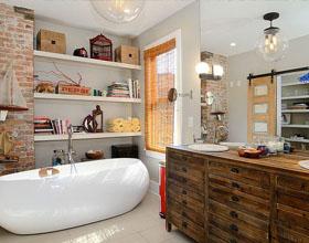 20个国外现代浴室门室内装修案例