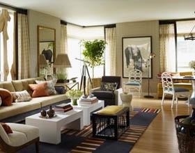 26个国外用客厅家具创意打造惊艳空间案例