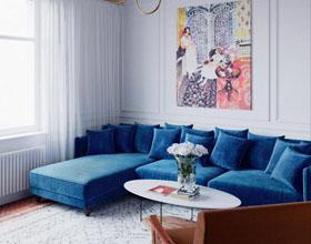 莫斯科三室两厅公寓室内设计