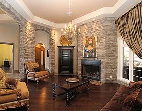 12个提高你家品质的深色硬木地板装修案例