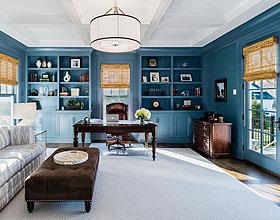 20个创造完美空间的现代家庭办公理念