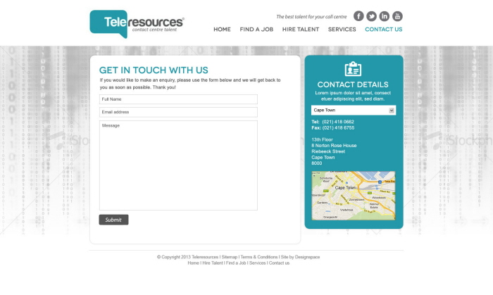 Zx5中国设计在线-Teleresources交互网页设计