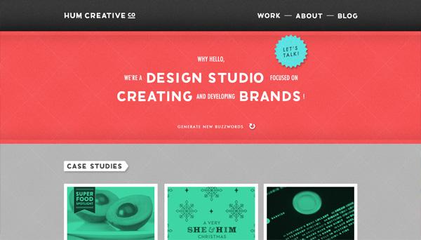 30个美丽的设计机构/工作室网站设计