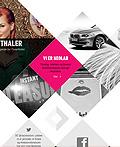 33个把平面设计运用在网页设计中的极端例子