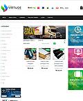漂亮的Gráfica Virtude 企业网站设计