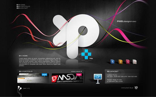 中国设计在线网站_23个非常漂亮的网站首页设计(3)-中国设计在线