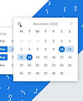 20个创意DatePicker UI设计
